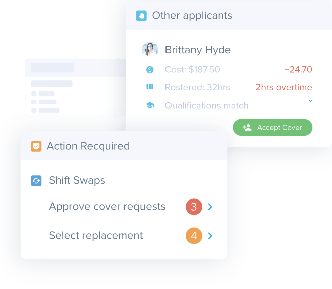 Manage Shift Swaps