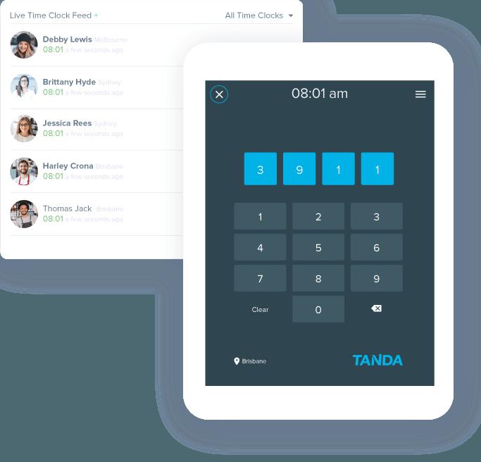 Employee Time Clock App Track Employee Attendance Tanda Au