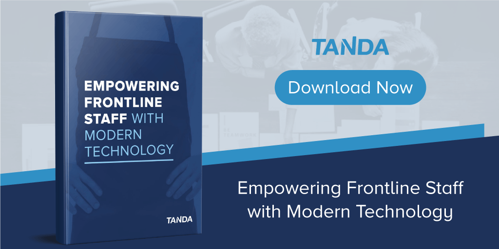 Empowering Frontline Staff with Modern Technology - Tanda eBook